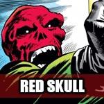 RED SKULL - LOGO