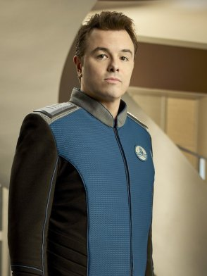 "THE ORVILLE: Seth MacFarlane as Ed Mercer in the new space adventure series THE ORVILLE from the creator of ""Family Guy."" The first part of the special two-part series premiere of THE ORVILLE will air Sunday, Sept. 10 (8:00-9:00 PM ET/PT), immediately following the NFL ON FOX Doubleheader. ©2017 Fox Broadcasting Co. Cr: Noah Schutz/FOX"