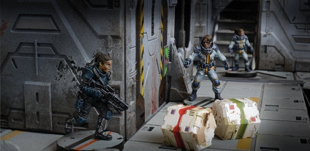 Mantic_Games-Warpath-Captain_Erika_Dulinsky-2